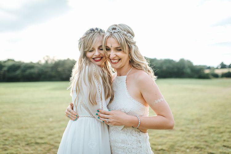 Boho Bride & Bridesmaid