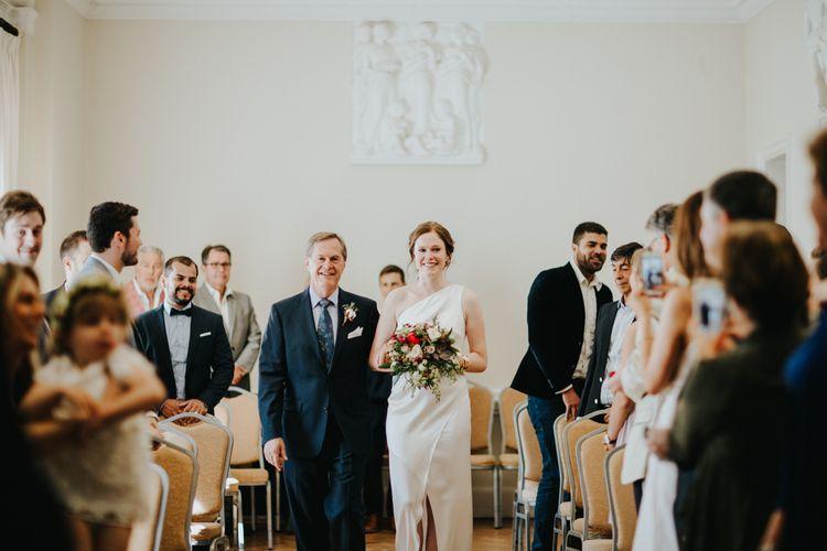 Wedding Ceremony at York House Twickenham | Petersham Nurseries Botanical Wedding | Irene Yap Photography