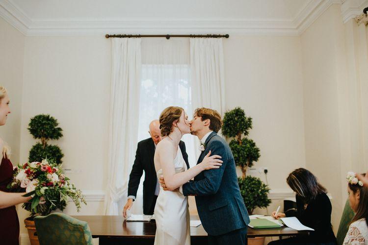 York House Wedding Ceremony | Petersham Nurseries Botanical Wedding | Irene Yap Photography