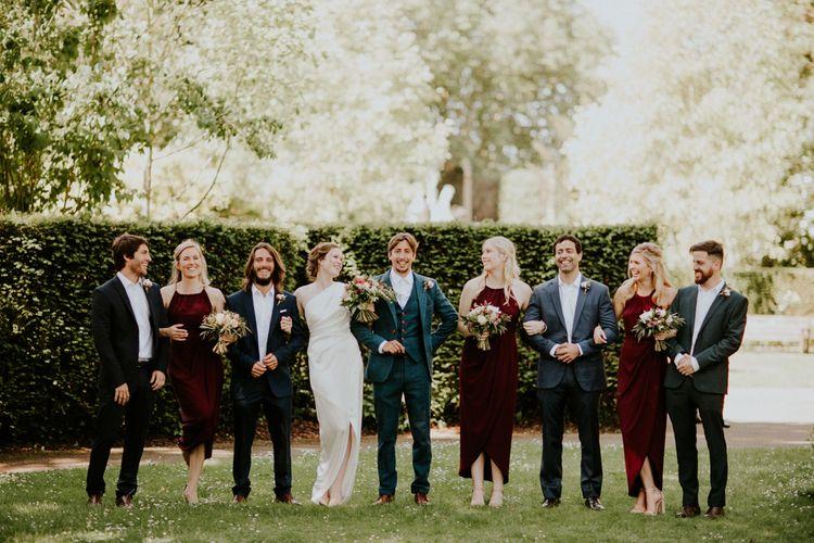 Wedding Party | Petersham Nurseries Botanical Wedding | Irene Yap Photography