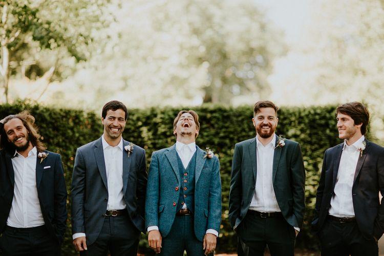 Groomsmen | Petersham Nurseries Botanical Wedding | Irene Yap Photography