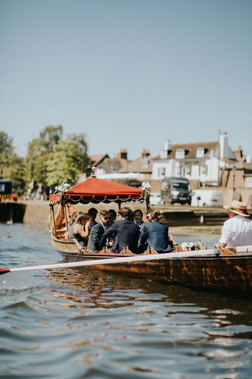 Gondola Wedding Transport | Petersham Nurseries Botanical Wedding | Irene Yap Photography