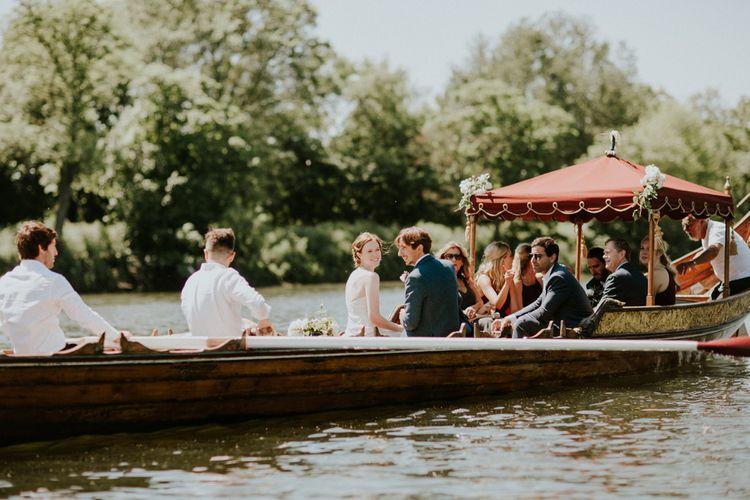 Gondola Ride | Petersham Nurseries Botanical Wedding | Irene Yap Photography
