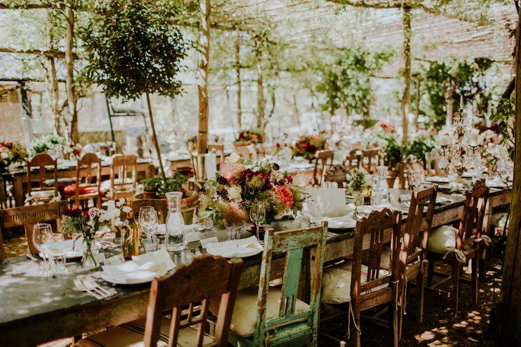 Table Scape | Petersham Nurseries Botanical Wedding | Irene Yap Photography