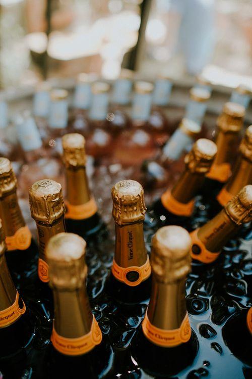 Veuve Clicquot Champagne | Petersham Nurseries Botanical Wedding | Irene Yap Photography