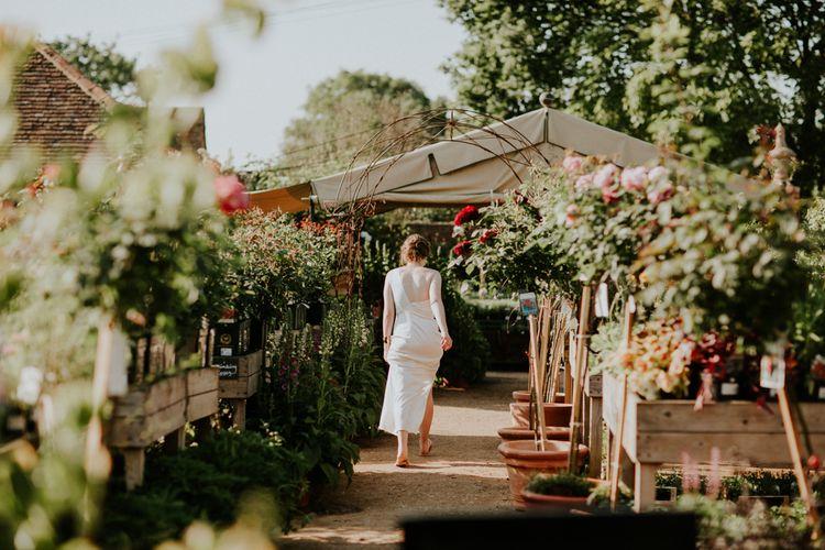 Bride in Bespoke Gown | Petersham Nurseries Botanical Wedding | Irene Yap Photography