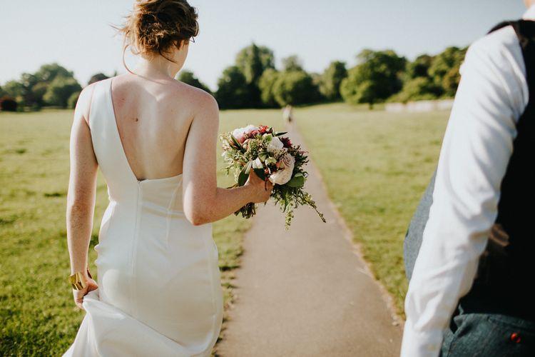 Bride Bespoke Gown | Petersham Nurseries Botanical Wedding | Irene Yap Photography