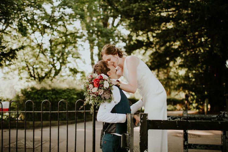 Bride & Groom | Petersham Nurseries Botanical Wedding | Irene Yap Photography