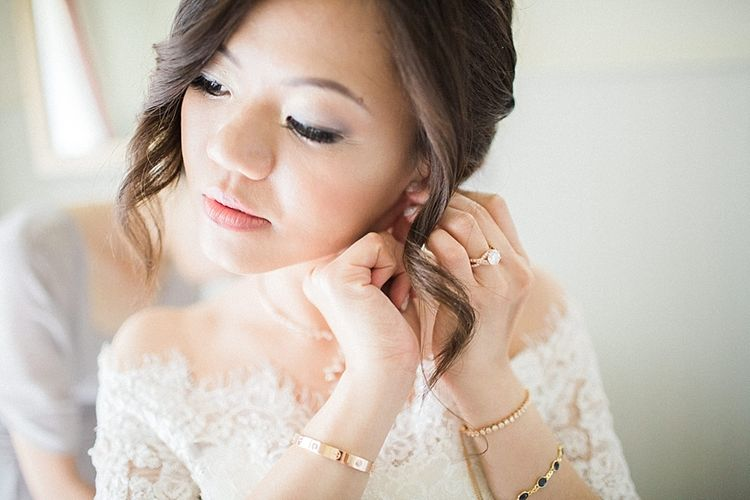 Bridal Beauty | Renee L. Collections Gown | Jacob & Pauline Photography | Pretty in White Films