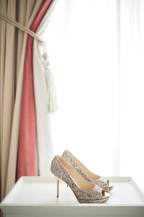 Jimmy Choo Shoes | Jacob & Pauline Photography | Pretty in White Films
