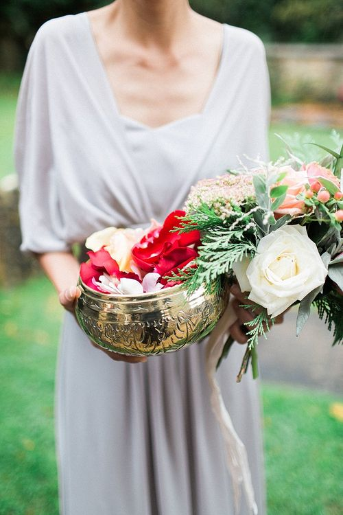 Bridesmaid in Grey Love Potion Dresses | Jacob & Pauline Photography | Pretty in White Films