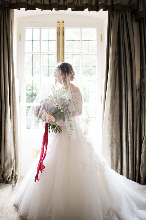Bride in Renee L. Collections Gown | Jacob & Pauline Photography | Pretty in White Films