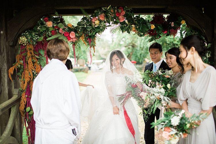 Church Wedding Flowers | Jacob & Pauline Photography | Pretty in White Films
