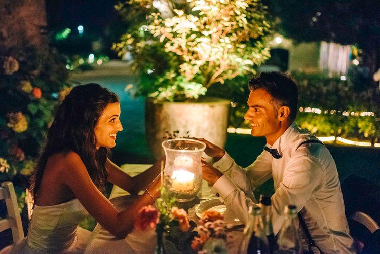 Bride & Groom Sweet Heart Table