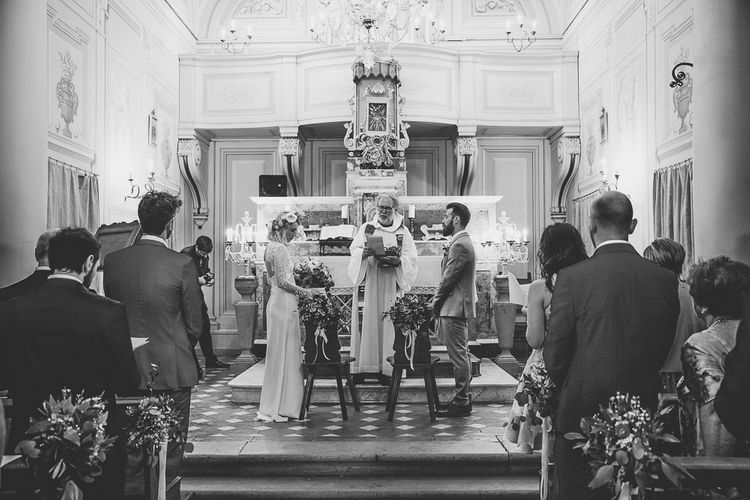 Church Wedding Ceremony | Tuscany Wedding | Due su Due Photography