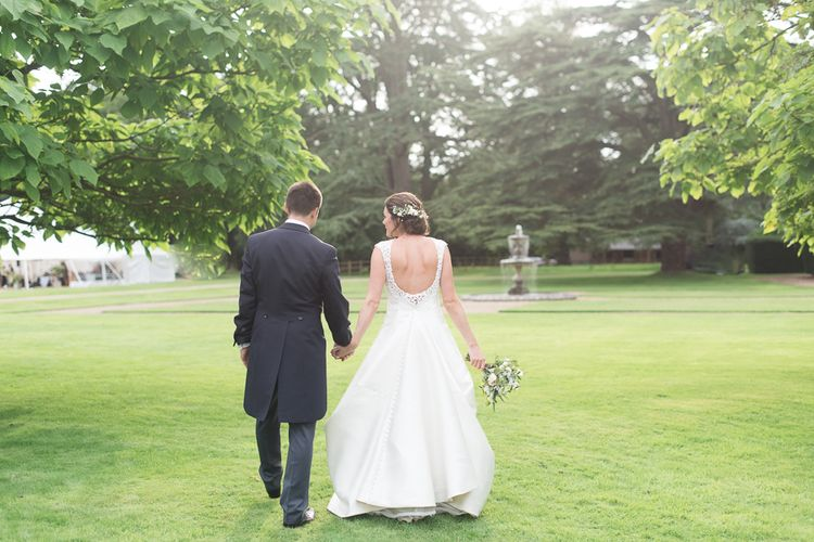 Elegant & Classic Sail Cloth Tent Wedding At Wickham House With Bride In Pronovias And Images From Fine Art Photographer Julie Michaelsen