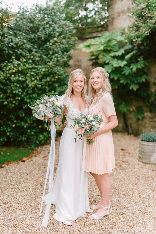 Anna Campbell Wedding Dress & Maternity Bridesmaids Dress