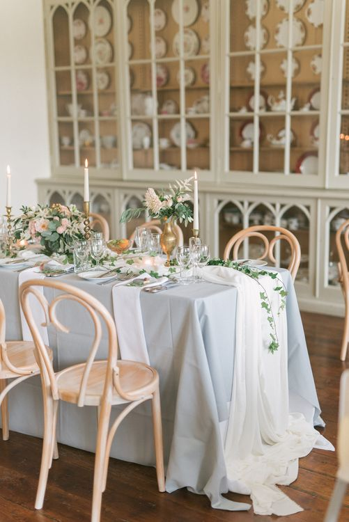 Elegant Wedding Reception Styling