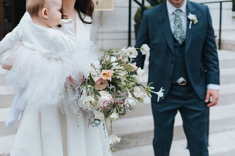 Prospere By Delphine Manivet Bride For An Intimate Family Wedding At Bistrotheque London With Images From Miss Gen Photography
