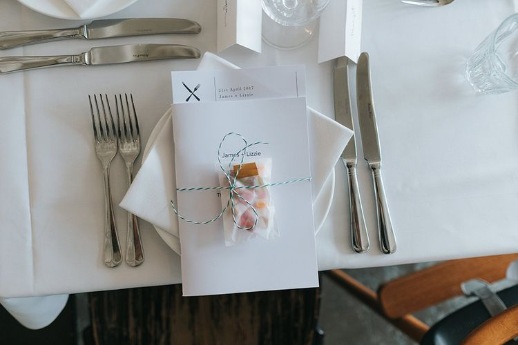 Wedding Favour Wrapped With String // Image By Miss Gen Photography