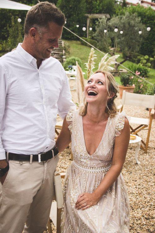 Elegant Engagement Celebration Dinner With Pastel Details & Pampas Grass Arrangements