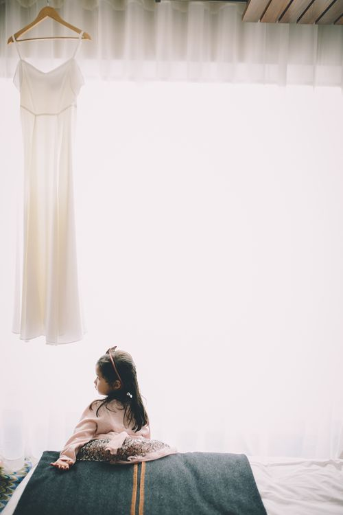 Flower Girl   Wedding Morning Preparations   Stylish London Wedding Planned by Revelry Events   Story + Colour Photography