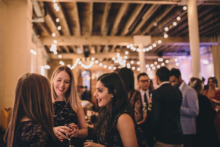 Wedding Guests   Stylish London Wedding Planned by Revelry Events   Story + Colour Photography
