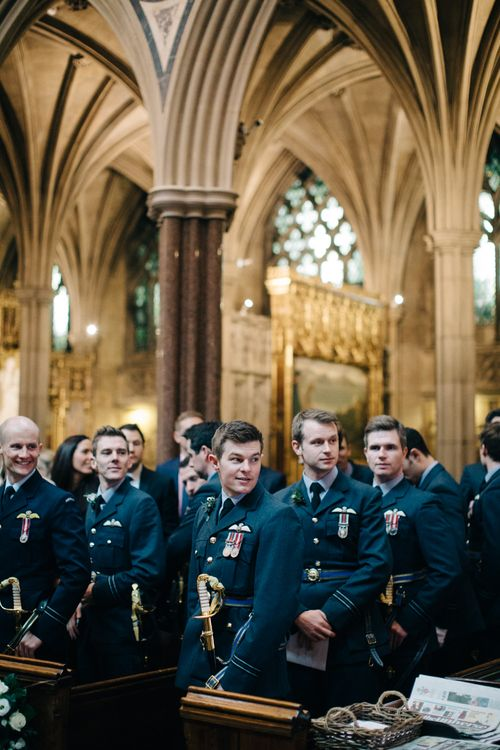 Military Wedding Guests