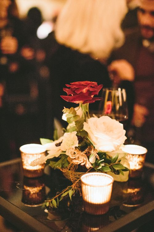 Elegant Wedding Reception by Liz Linkleter Events