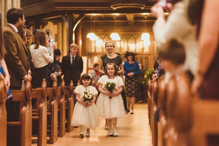 Catholic Church Ceremony   Flower Girls in Monsoon     Matt Penberthy Photography