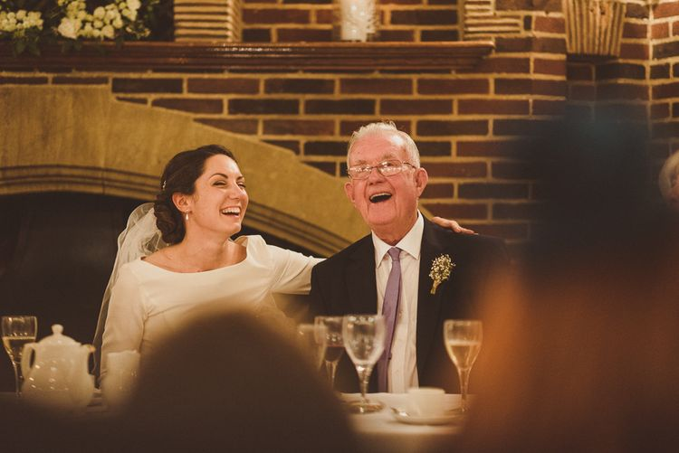 Wedding Speeches   Bride in JLM Couture Ti-Adora Wedding Dress   Matt Penberthy Photography