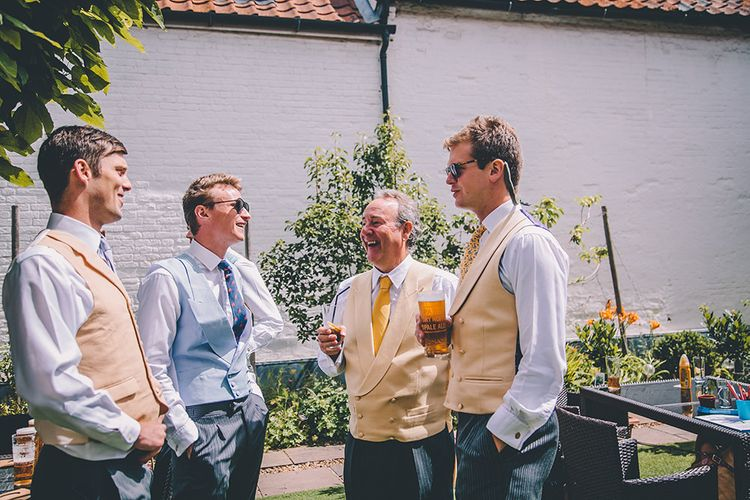 Groomsmen | Classic Marquee Wedding at Kimberley Hall in Norfolk | Story + Colour Photography | Driftend Films
