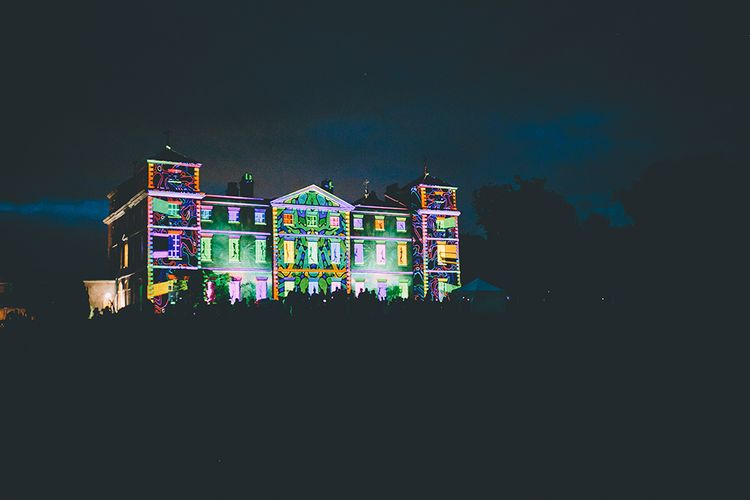 Light Show at Kimberley Hall in Norfolk | Story + Colour Photography | Driftend Films