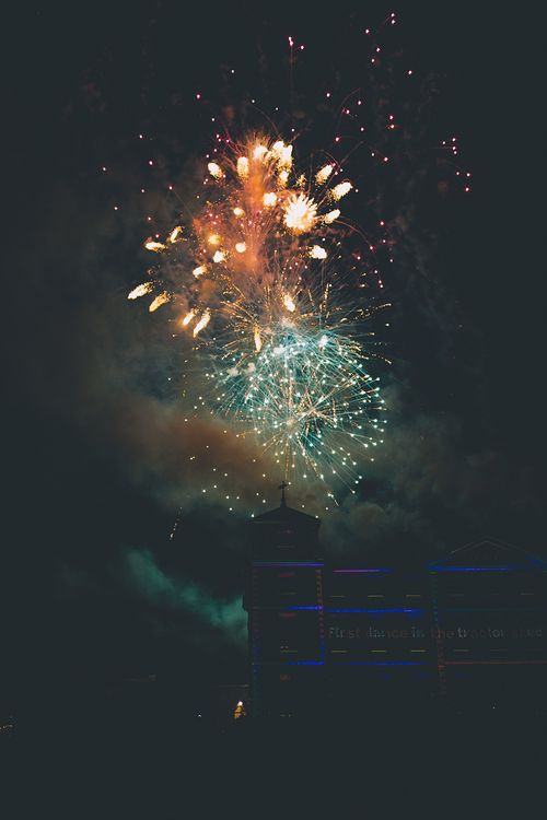 Firework Display at Kimberley Hall in Norfolk | Story + Colour Photography | Driftend Films