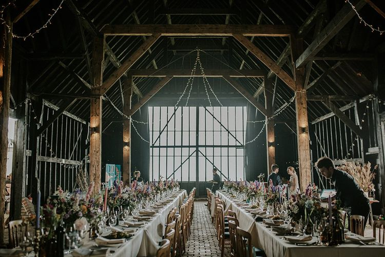 Barn Reception at Elmley Nature Reserve | Lola Rose Photography