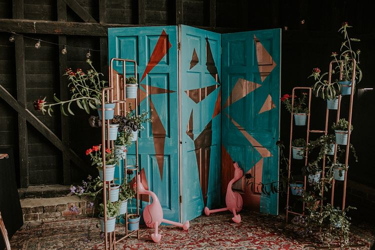 Plant Pot Table Plan | Wedding Decor | Elmley Nature Reserve Wedding | Lola Rose Photography