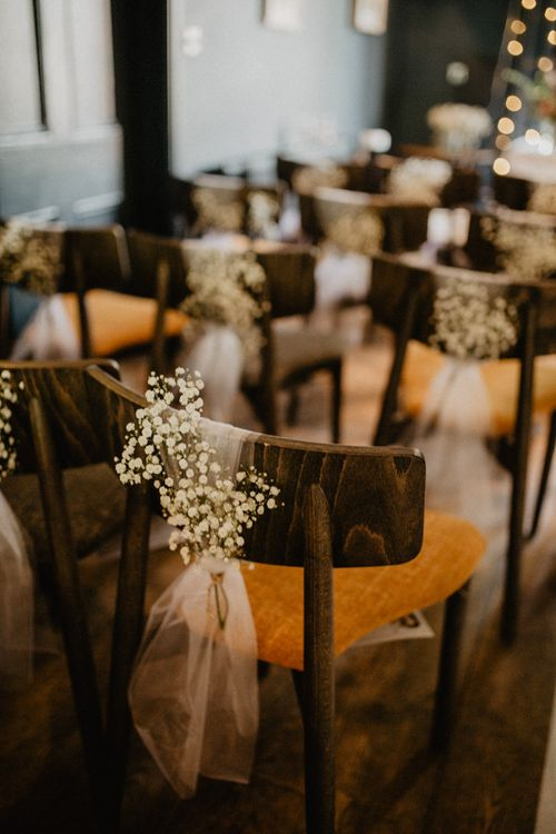 Gypsophila Fairy Lights & Dark Florals For A Family Focused Wedding At The Georgian Townhouse Norwich With Images By Camilla Andrea Photography