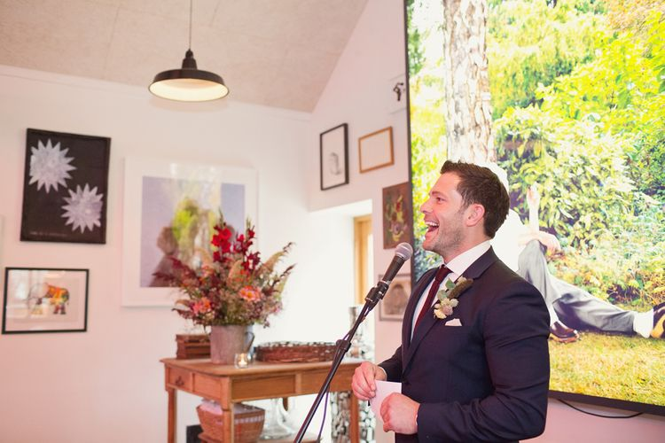 Wedding Speeches | Roth Bar and Grill, Somerset | Cotton Candy Photography