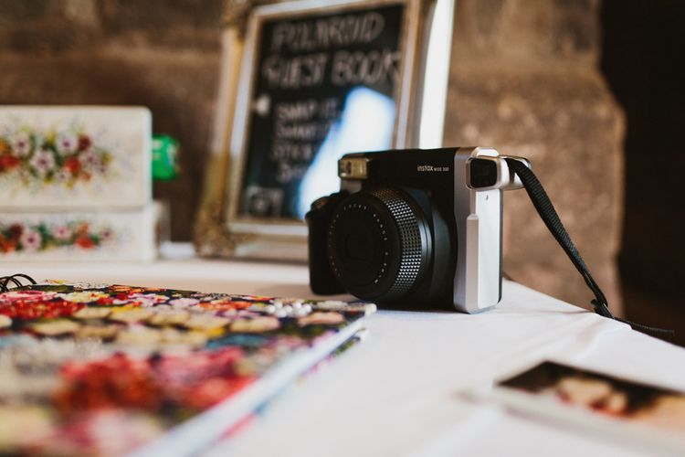 Polaroid Guest Book Station | Ally M Photography