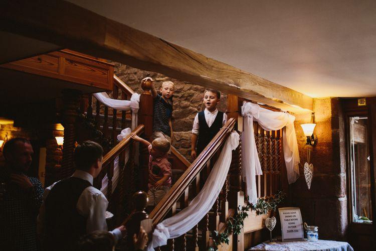 Wedding Guests | Beeston Manor Lancashire | Ally M Photography