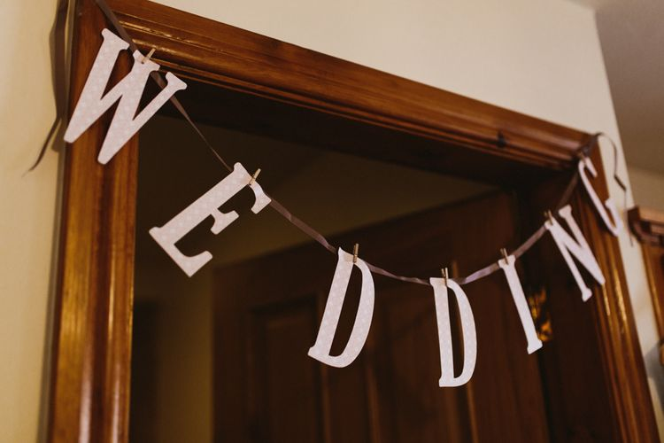 Wedding Bunting | Wedding Decor | Ally M Photography