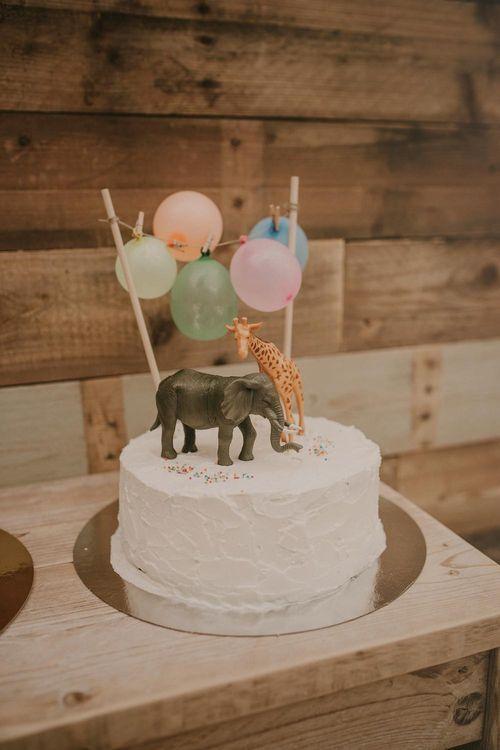 Birthday Cake For Children at Wedding