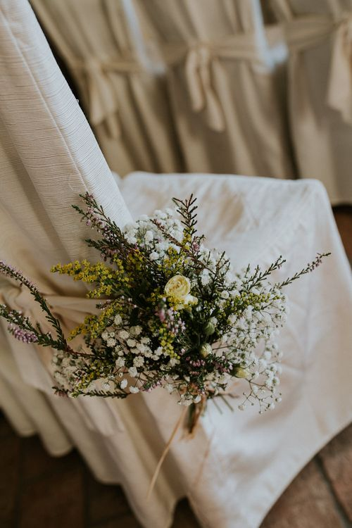Aisle Seat Flowers   Intimate Love Memories Photography