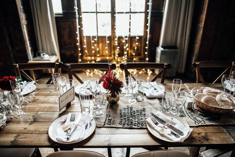 Stunning Wedding Table Settings.