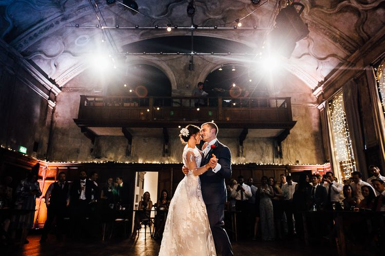 Wedding Reception Dancing. First Dance