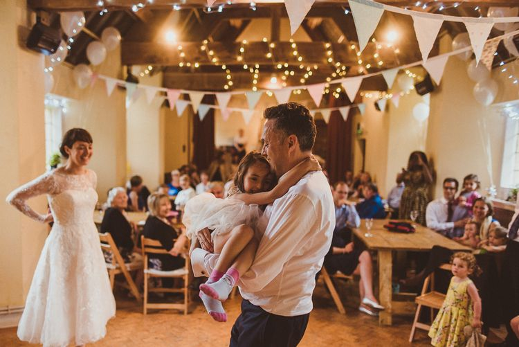 Family on Wedding Day