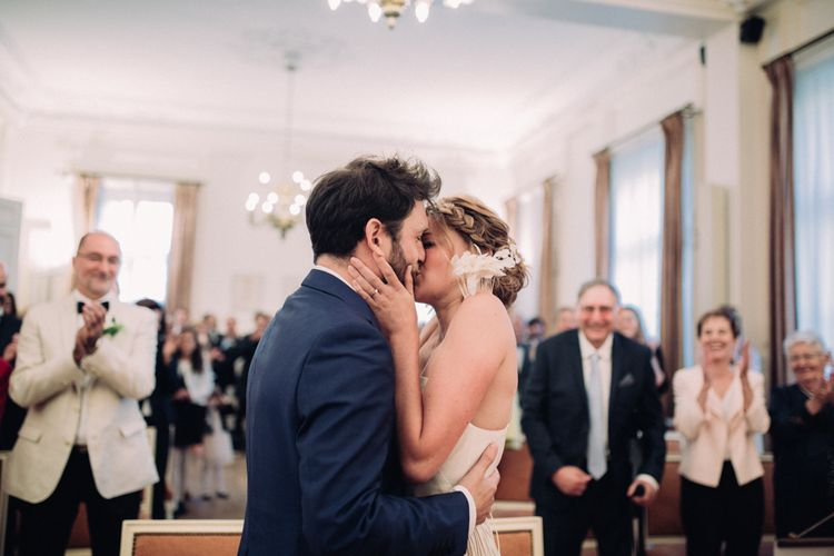 Rime Arodaky Bride For A Stylish Artistic & Bohemian French Wedding At La Dime De Giverny France With Images From Paris Wedding Photographer Juli Etta