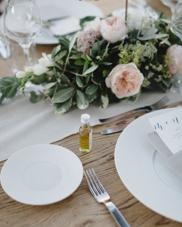 Pink & White Outdoor Reception at Château Alpheran Provence | Sebastien Boudot Photography