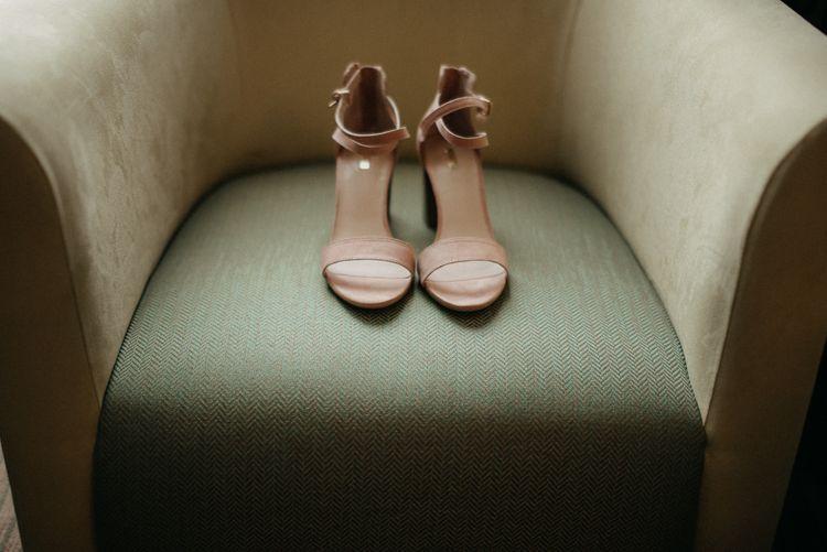 Dusky Pink Wedding Shoes