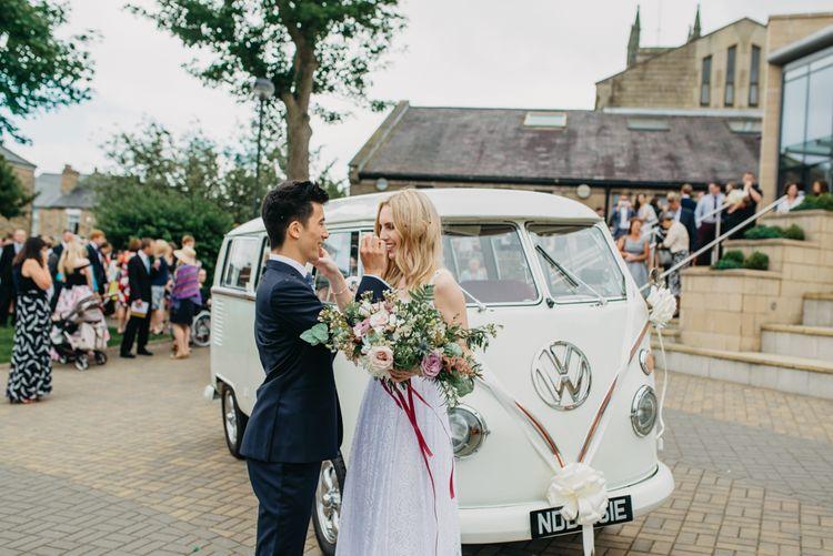Vintage VW Camper For Wedding